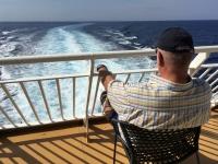 2017 10 06 Fähre von Paros nach Naxos