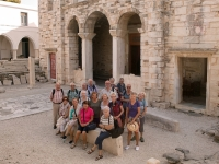 2017 10 06 Paros Kirche Ekatontapyliani Gruppenfoto