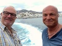 2017 10 06 Rückfahrt von Naxos nach Paros