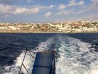 2017 10 07 Abfahrt von Mykonos