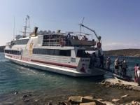 2017 10 07 Ankunft auf der Insel Delos