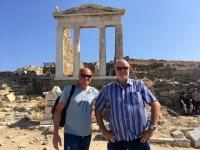 2017 10 07 Delos Ausgrabungen am Berg mit Eric