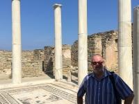 2017 10 07 Delos Unesco Ausgrabungen mit Mosaikboden