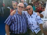 2017 10 07 Mykonos Foto mit Luis de Funes Double