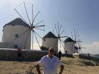 2017 10 07 Mykonos berühmte Windmühlen