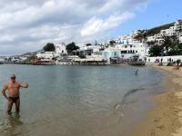 2017 10 07 Mykonos erfrischendes Bad im Meer