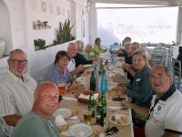 2017 10 08 Antiparos gemeinsames Mittagessen