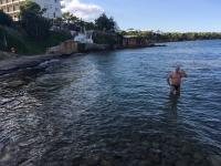 2017 10 09 Hotel Mati letztes Baden im warmen Meer