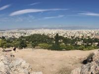 2017 10 04 Athen Blick auf Athen