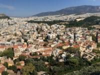 2017 10 04 Blick von der Akropolis auf Athen