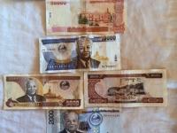 1 Geldscheine Laotischer Kip