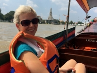 2017 10 27 Bangkok Fahrt Longtailboot