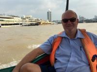 2017 10 27 Bangkok Fahrt mit  Longtailboot