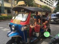 2017 10 27 Bangkok Fahrt mit Tuc Tuc