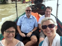 2017 10 27 Bangkok Fahrt mit dem Longtailboot