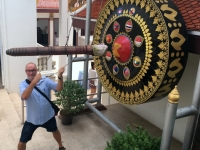 2017 10 27 Bangkok Golden Mount Grosser Gong