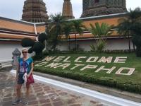 2017 10 27 Bangkok Willkommen im Wat Pho