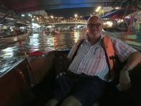 2017 10 28 Thailand Amphawa Floating Markt Glühwürmchenfahrt