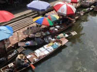2017 10 28 Thailand Schwimmender Markt 1