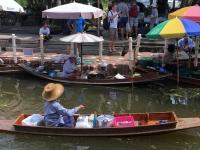 2017 10 28 Thailand Schwimmender Markt 2