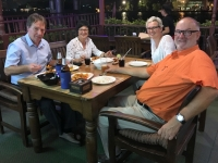 2017 10 29 Bangkok Abendessen am Fluss Chao Phraya