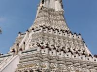 2017 10 29 Bangkok Wunderschöner Wat Arun