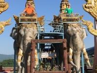 2017 10 30 Chiang Saen Elefantentempel