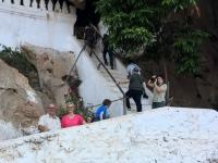 2017 11 01 Aufgang zu den Höhlen von Pak Ou