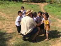 2017 11 01 Besuch Dorf Muang Keo Village Schulbesuch