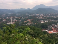 2017 11 02 Luang Prabang Blick vom hphen Stadthügel Mount Phousi