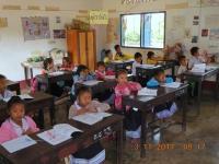 2017 11 03 Luang Prabang Dorfschule von deutschen gegründet