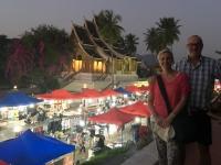 2017 11 04 Luang Prabang Nachtmarkt von oben