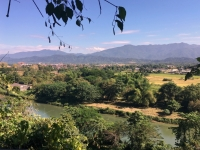 2017 11 07 Tham Chang Tropfsteinhöhle mit schönem Weitblick