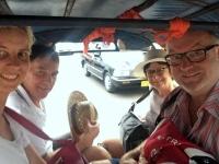 2017 11 08 Vientiane Fahrt mit Tuc Tuc vom Nachtmarkt