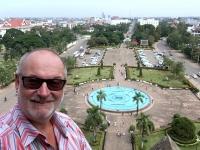 2017 11 08 Vientiane Herrlicher Ausblick von oben