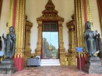 2017 11 08 Vientiane Tempel Wat Ho Phra Keo Eingang