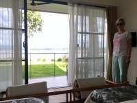 2017 11 09 Champasak Hotel River Resort Blick auf Mekong