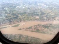 2017 11 09 Flug Vientiane Pakse über Mekong