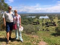 2017 11 09 Wat Phou Unesco Weltkulturerbe toller Weitblick