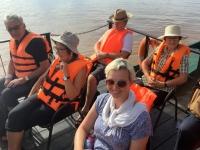 2017 11 10 Fahrt auf dem Mekong