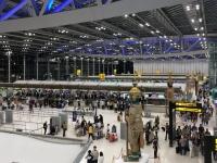 2017 11 11 Bangkok schöner Flughafen