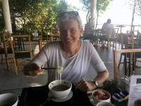 2017 11 11 Champasak letzte Nudelsuppe zum Frühstück