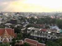 2017 10 27 Bangkok Blick Tempel des goldenen Berges