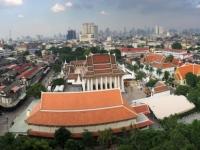 2017 10 27 Bangkok Blick vom Tempel des goldenen Berges
