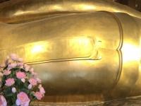 2017 10 27 Bangkok Goldener Budda im Wat Pho