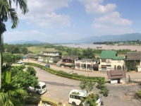 2017 10 30 Chiang Saen Blick vom Hotel