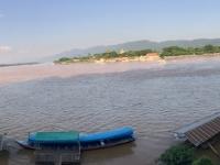 2017 10 30 Chiang Saen Fluss Mekong im Goldenen Dreieck