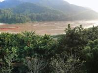 2017 10 31 Pakbeng Lodge Blick auf Mekong