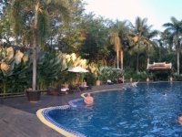 2017 11 01 Luang Prabang Hotel Villa Santi Resort  Pool