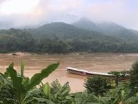 2017 11 01 Morgendlicher Blick auf den Mekong